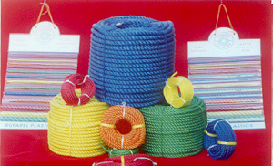Exporter in India offers HDPE ropes, Synthetic, Plastic, Marine, Polypropylene, PE, PP Ropes.